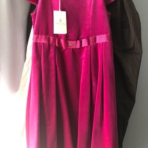 Original Gucci dress size 6 years old .